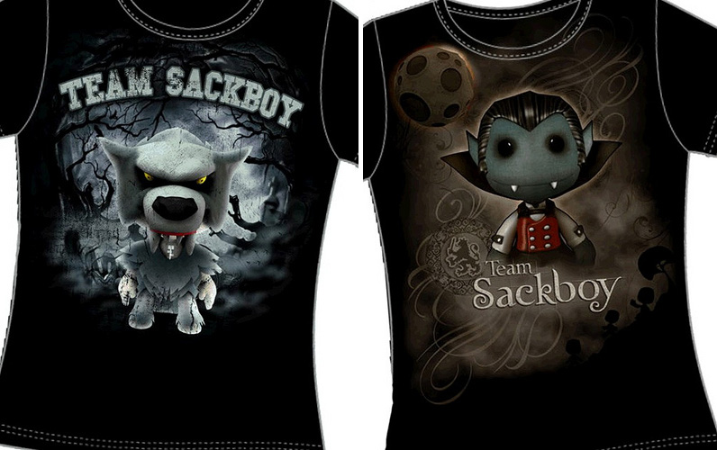 Team Sackboy Shirts